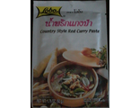 Основа для карри Country style red curry paste. 50г.